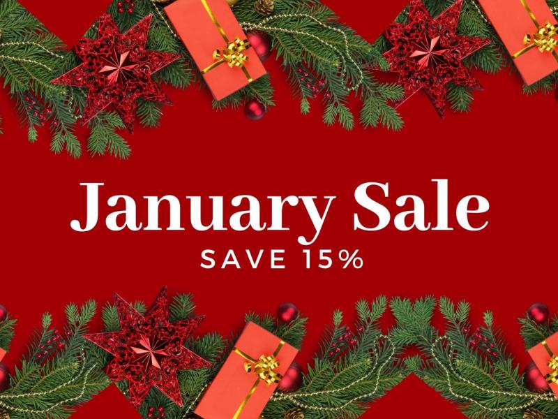 January Sale Special Offers