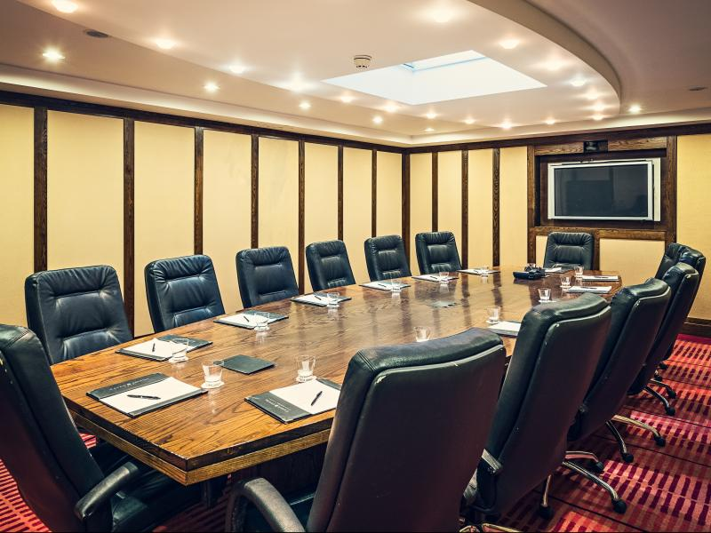 Our dedicated conference center can cater for meetings from 2 - 600