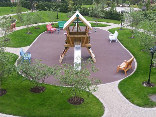 Our fabulous new Children's Playground