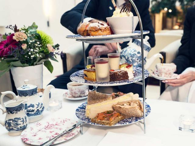 Scrumptious Afternoon Tea in our stunning Atrium Lobby