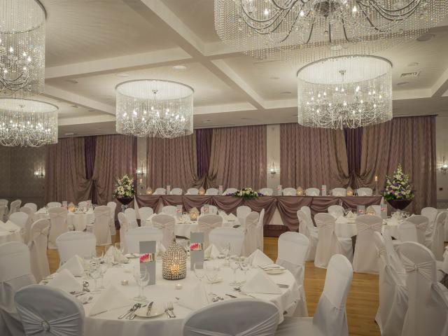 Our Stunning Balavaun Suite if ideal for Weddings, Diner Dances, Gala Balls or private functions