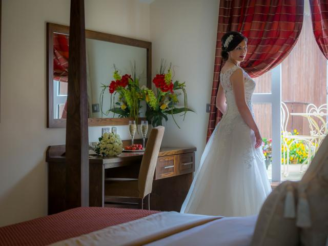 Bridal photo-shoot in our fabulous Bridal Suite