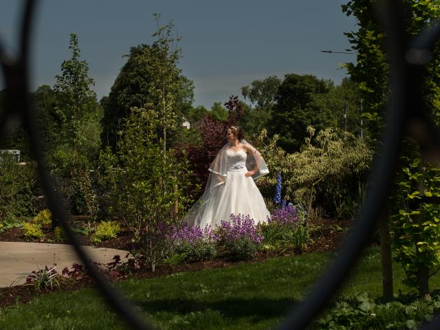 Wedding photography in our Stunning new Wedding Gardens
